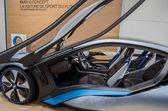 BMW Concept car i8 on display at 82nd Geneva International Motor — Stock Photo