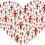 grand coeur — Vecteur