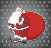 Santa Claus — Vector de stock