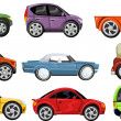 Royalty-Free Stock Vector Image: Colorful car