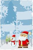Santa claus — Stock vektor