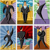 Business men — Stock Vector