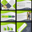 Business Template. Vector illustration.  — Vektorgrafik