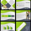 Business Template. Vector illustration.  — Stockvektor