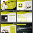 Business Template. Vector illustration. — Stock vektor