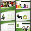 Stock Vector: Business Template