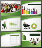 Business Template — Stock Vector