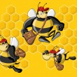 Royalty-Free Stock Imagem Vetorial: Bee hive.
