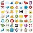 Internet, Website icons Set - Stockvectorbeeld