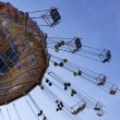 Ferris Wheel on funfair — Stock Photo