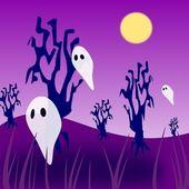 парящий призраков — Стоковое фото