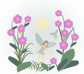 Flower Fairies — Stock Photo