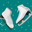 Stock Photo: Ice Skates