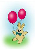 Birth Day Rabbit — Stock Photo