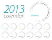 Kalender 2013 — Stockvector