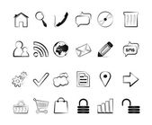 Icons — Vettoriale Stock