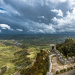 Rocca della Guaita, an ancient fortress in Republic of San Marino — Stock Photo