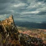 Rocca della Guaita, the most ancient fortress of San Marino — Stock Photo #14858779