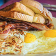 American breakfast — Stock Photo #21876933