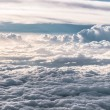 Aerial view of clouds 10 000 feet above the ground. — Stock Photo #21897965