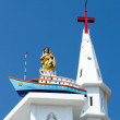 Our Lady of Good Voyage Church, Kottappuram, Vizhinjam — Stock Photo #49668403