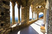 Mystical Mystras, Panayia Pantanassa monastery — Stock Photo