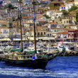 Sailing the Greek islands — Foto de Stock