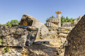 Ancient site of Olympia, Greece — Stock Photo