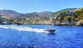 Beautiful Greek island, Hydra — Stock Photo