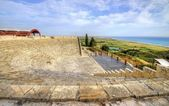 Ancient theatre of Kourion, Limassol, Cyprus — 图库照片