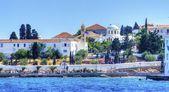 Pięknej greckiej wyspie, spétses — Zdjęcie stockowe