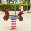 At the playground - Stock Photo