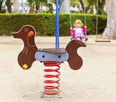 At the playground — Stock Photo