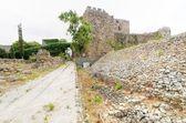 Cruzado castillo, byblos, líbano — Foto de Stock