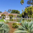 Botanical Building, Balboa Park — Stock Photo
