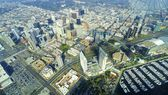 Aerial view of Downtown San Diego — Stock Photo