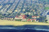 Aerial view of Coronado Island, San Diego — Stock Photo