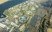 Aerial view of Seaworld, San Diego — Stock Photo