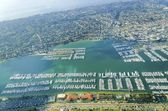 Aerial view of Point Loma, San Diego — Stockfoto