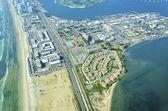 Aerial view of Coronado Island, San Diego — Stock Photo