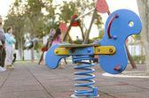 At the playground — Stock Photo