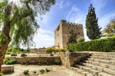 Medieval castle of Kolossi, Limassol, Cyprus — Stock Photo