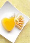 Želé srdce — Stock fotografie