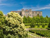 Parque de Belvis in Santiago de Compostela — Stock Photo