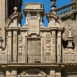 Stock Photo: Royal gate of CompostelCathedral