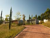 Moderní hřbitov v Haliči — Stock fotografie