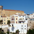 Church in background of Mahon, Menorca — Stock Photo #15336253