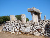 Taula in Talati de Dalt, Menorca, Spain — Stock Photo
