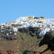Fira town, Santorini — Stock Photo
