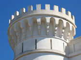 Tower with battlements — Stock Photo